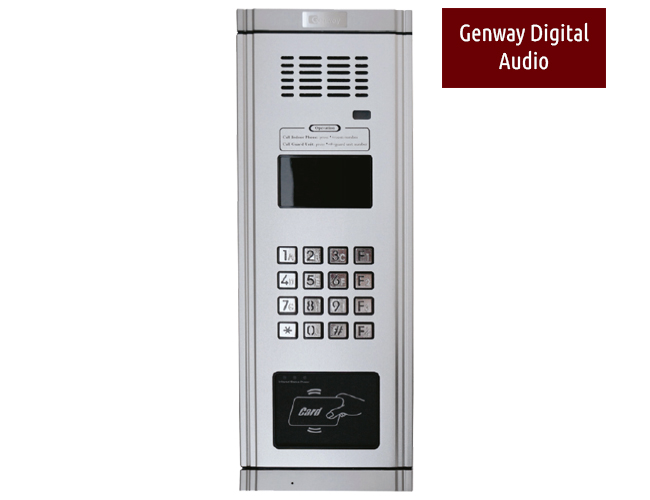 Genway Digital Apartment Audio Door Entry System Bespoke