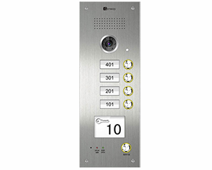 Genway 4-Button Apartment Door Station CAT5