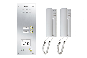 Genway Audio 2-Flat Door Entry System CAT-5