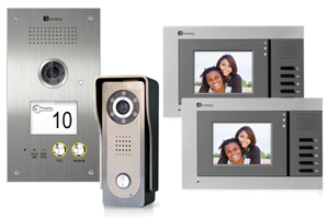 2-Monitor JUNO Video Door Entry System