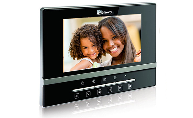 Genway Luna 1-Monitor Video Door Kit CAT5