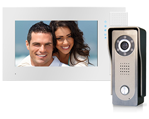 Genway Lyra White 1-Monitor Video Door Entry Kit