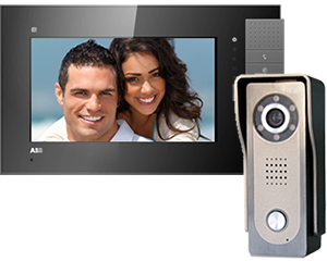 Genway Lyra Black 1-Monitor Video Door Entry