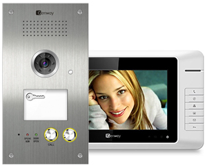 Genway Selous Video Doorbell with Muse Monitors