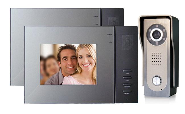 Intelligent Home Vela Duo Video Door Intercom System House Door