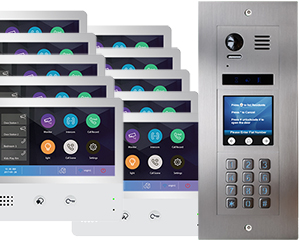 2-Easy Vulcan Touchscreen and Keypad 10-Flat WiFi Monitors Mobile App