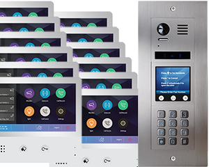 2-Easy Vulcan Touchscreen and Keypad 12-Flat WiFi Monitors Mobile App
