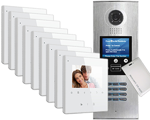 2-Easy DigiOpen IP 16-Apartment Avro Video Door Entry System