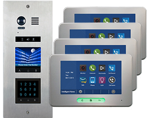 2-Easy Vosper Keypad 4-Flat Alecto Monitors