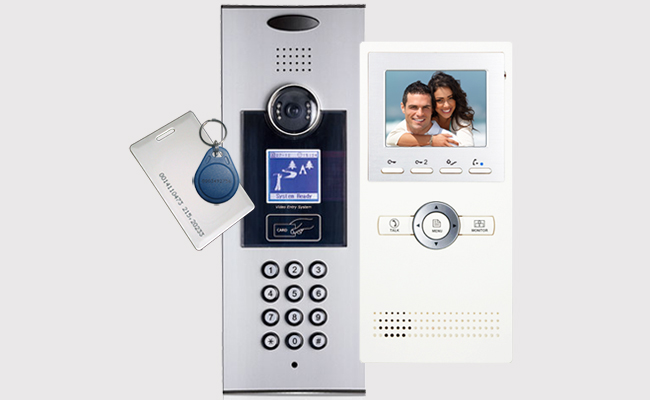 K5 DigiPass Digital Apartments Door Entry System with Leda CAT5