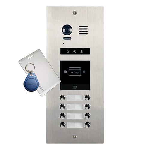 2-Easy DMR21ID 8-Button Apartment Door Station Proximity Reader