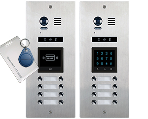VOSPER 8 Direct Call Apartments Video Door Entry System Bespoke