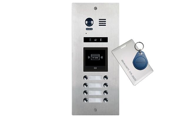 Vosper 8 Direct Call Apartments Video Door Entry System Bespoke Apartment Flats 2wireflatsdmr218dcbespoke