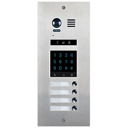 4-Button DMR21KP4 Apartment Door Station Keypad 2-wire series