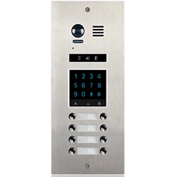 8-Button DMR21KP8 Apartment Door Station Keypad 2-wire series