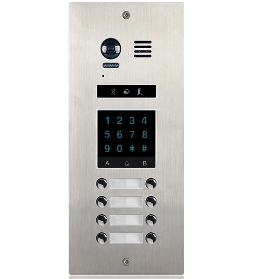 2-Easy DMR21KP 8-Button Apartment Door Station Keypad