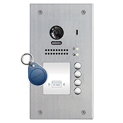 4-Button DT607/ID/4 Apartment Door Station Proximity Reader 2-wire series
