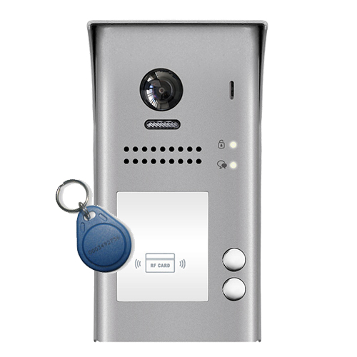 2-Easy DT607ID 2-Button Door Station Proximity Reader