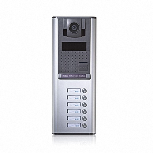 MR7D 4-Button Apartment Door Station 6-wire series