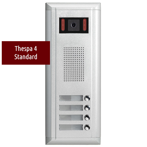 THESPA DMR11/4 Apartment Door Station 2-Wire Series
