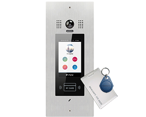 Victor IX850 POE Apartment Video Door Entry System Bespoke