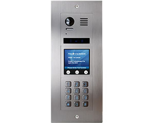 2-Easy Vulcan Touchscreen and Keypad Apartment Video Door Entry System Bespoke