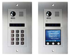 2-Easy Vulcan 2-Module Apartment Video Door Entry System Bespoke