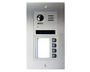 2-Easy Vulcan Direct Call 4-Apartment Video Door Entry System Bespoke