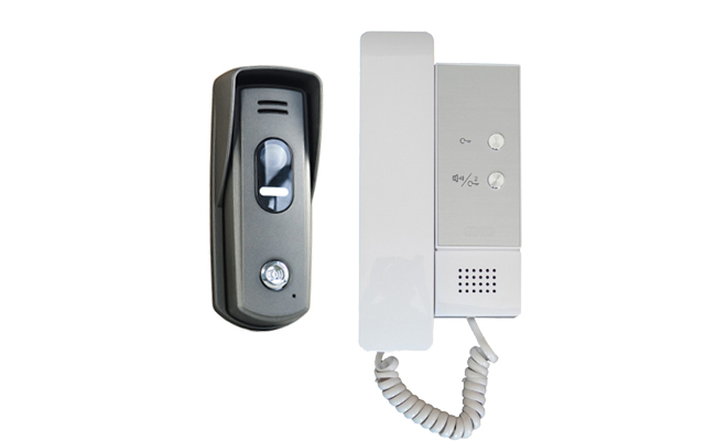 2-Easy 1-Audio Handsets with Surface Slim Doorbell