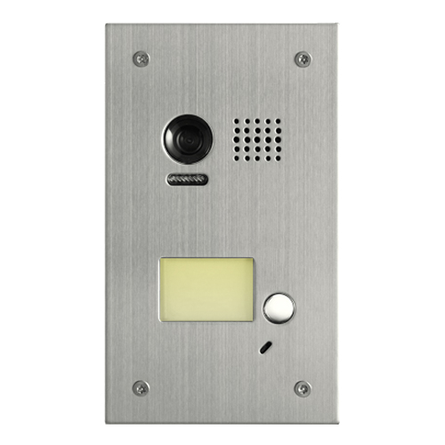 2-Easy Doorbell Model DT603 Steel Flush Mount