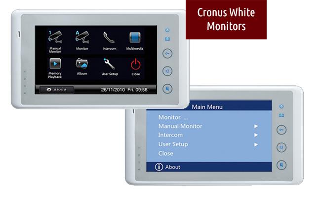 Intelligent Home Minuet 603 Door Entry Plus Cctv Kit Door Entry