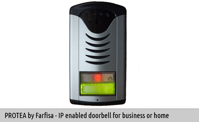 Protea IP Video Doorbell Proximity Reader