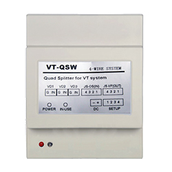 VT Quad Splitter Interface VT-QSW 4-wire series