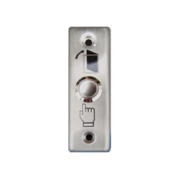 Stainless Steel Exit Button 90 x 28mm