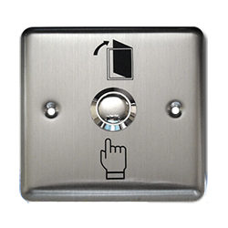 SB3 Stainless Steel Indoor Exit Button 86 x 86mm