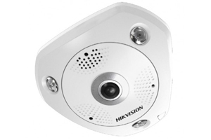 Hikvision IP Fisheye camera HD 1080, 3MP, POE