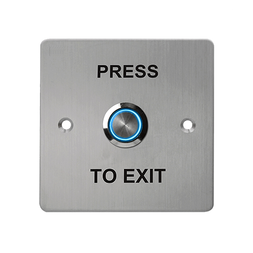 SB10R Exit Button with illuminated Button 88 x 88mm