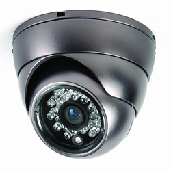 Small IR Dome CCTV Camera 420 TV Lines
