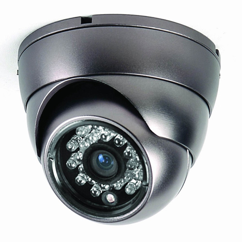 Small IR Dome CCTV Camera 700TV