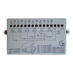 Guinaz C1004 CCTV Video Interface