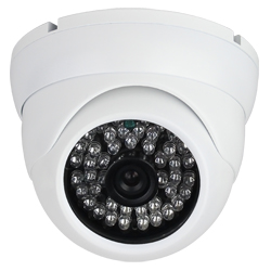Vandalproof IR Dome Camera with Manual Zoom 700TV Lines