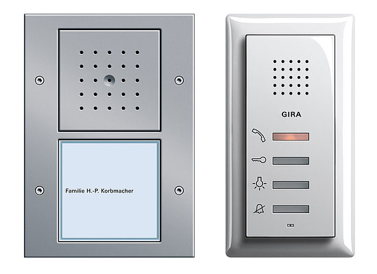 Intelligent Home Gira Audio Door Entry System Mod 1 Audio Only