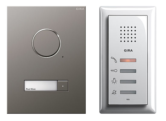 Gira Audio Door Entry System Mod 2 Audio Only Door Entry