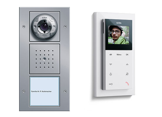 Intelligent Home Gira Video Door Entry System Mod 1 House Door