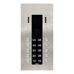 10-Button Guinaz Alea Apartment Door Station CAT5