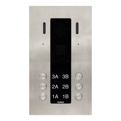 6-Button Guinaz Alea Apartment Door Station CAT5