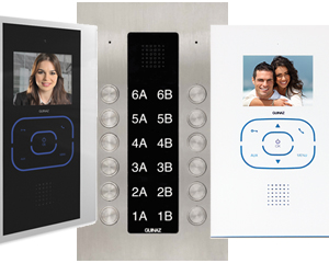 Guinaz Alea and Tactile 12-Flat Video Door Entry System