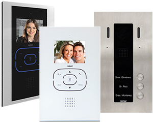 Guinaz Alea and Tactile 3-Flat Video Door Entry System