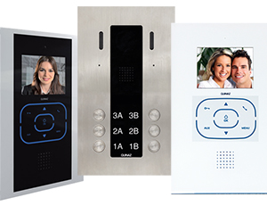 Guinaz Alea and Tactile 6-Flat Video Door Entry System