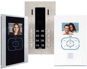 Guinaz Alea and Tactile 8-Apartment Video Door Entry System